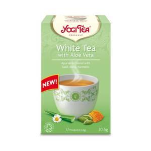 Bilde av Yogi Tea White Tea & Aloe Vera 17 poser