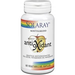 Bilde av Solaray Antioxidant 60 kapsler
