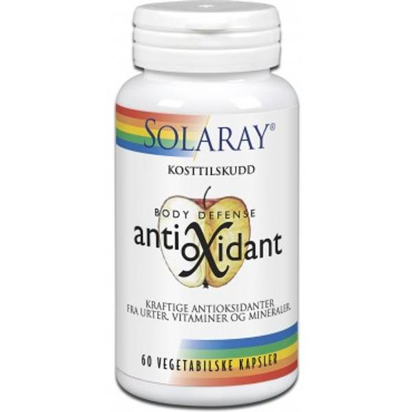 Solaray Antioxidant 60 kapsler