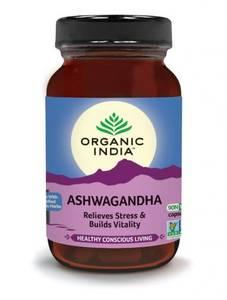 Bilde av Organic India Ashwagandha 90 kapsler