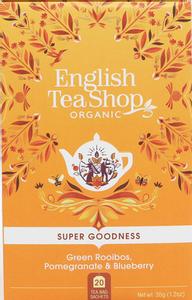 Bilde av English Tea Shop Green Rooibos Pomegranate & Blueberry 20 poser