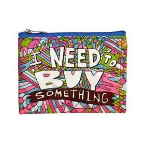 Bilde av BlueQ Myntpung - I Need to Buy Someting