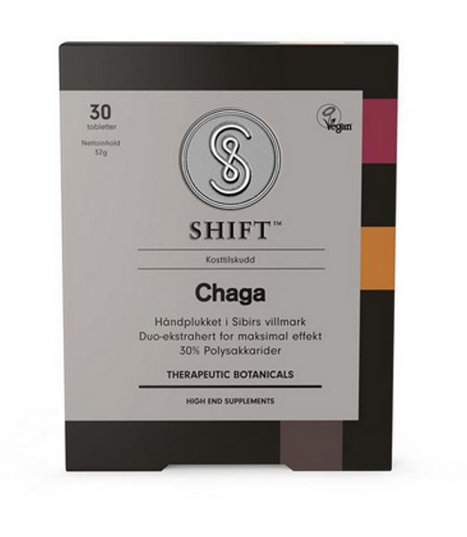 SHIFT Chaga 30 tabletter
