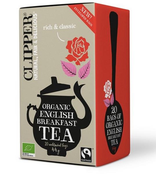 Clipper Tea English Breakfast Black Tea