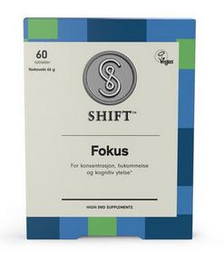 Bilde av SHIFT Fokus 60 tabletter