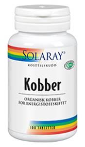 Bilde av Solaray Kobber 2 mg 100 tabletter