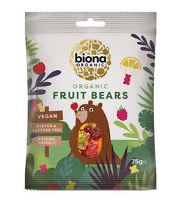 Bilde av Biona Godteri Fruit Bears 75g