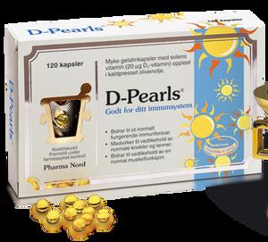 Bilde av D-Pearls 20 mcg 120 stk Pharma Nord